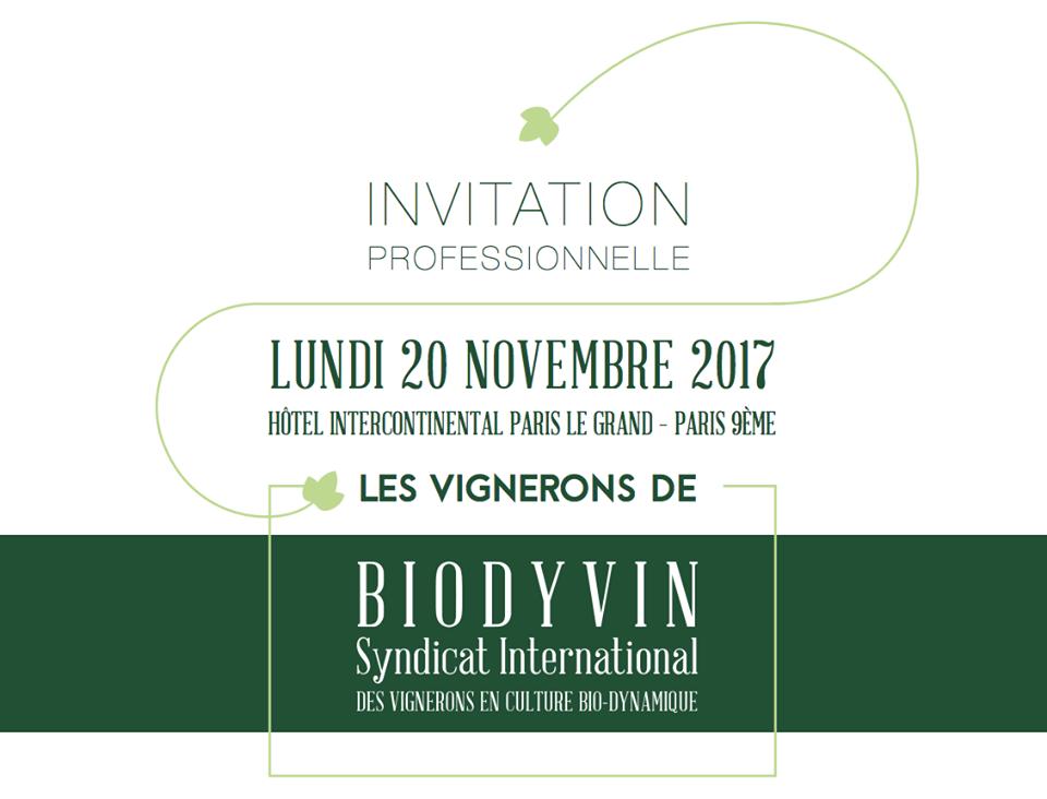 BIODYVIN Event in Paris