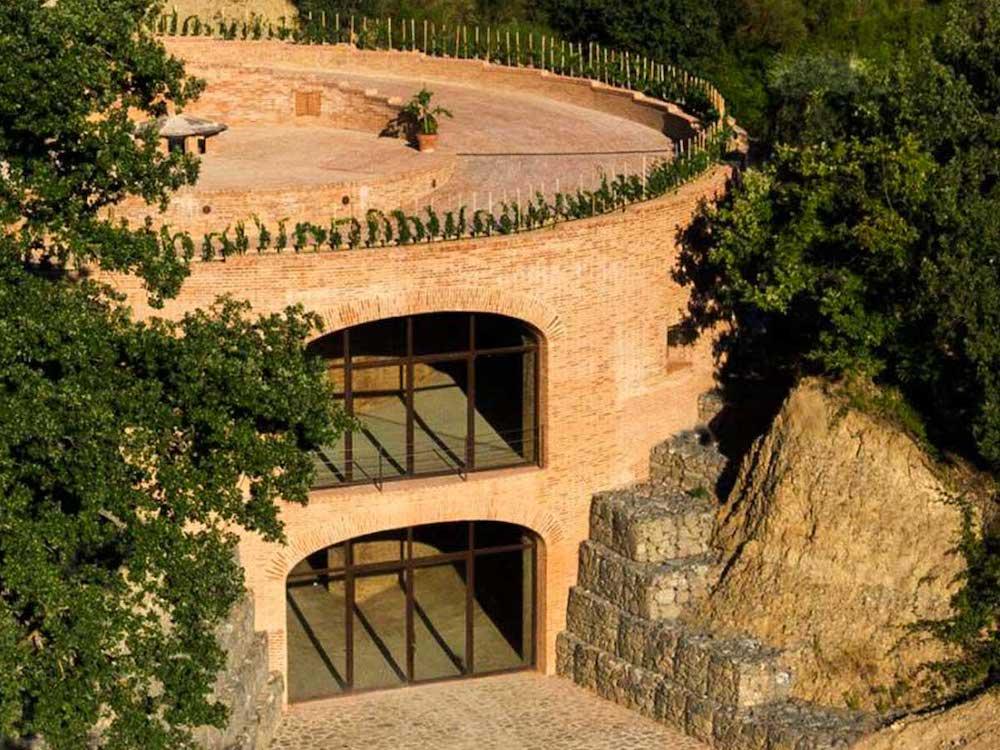 Podere Le Ripi Golden Cellar in Montalcino
