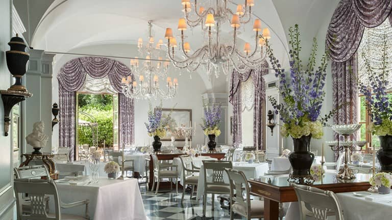 Michelin-starred restaurants Il Palagio at Four Seasons Hotel Firenze