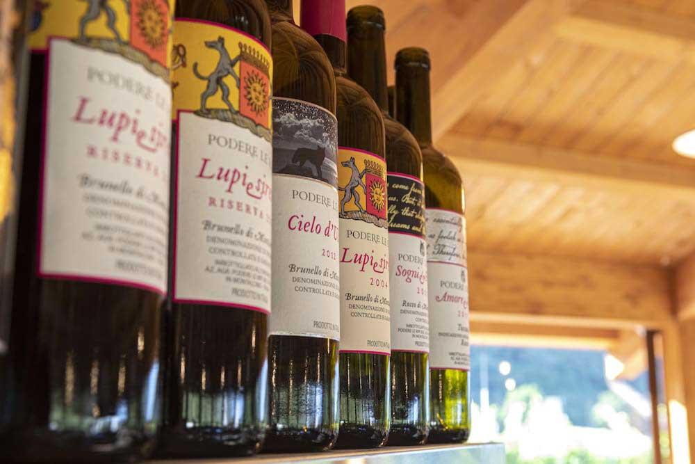 I nostri vini di Montalcino