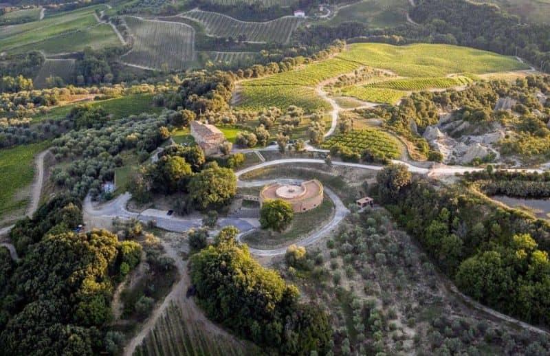 Podere le Ripi winery in Montalcino