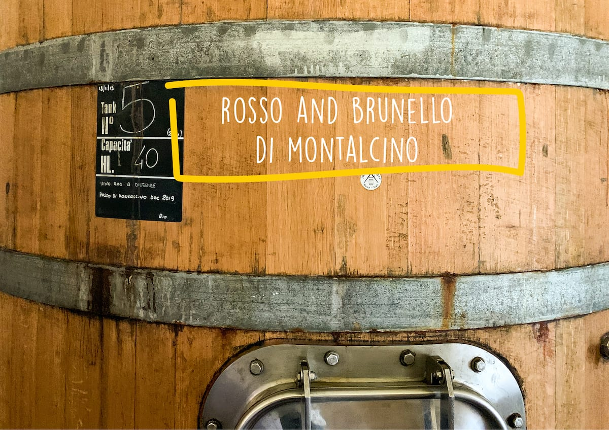 Rosso and Brunello di Montalcino