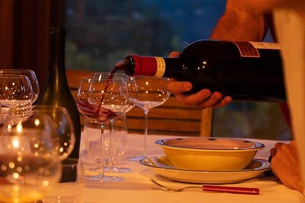 Tasting in 5-star luxury hotel Castello Di Casole