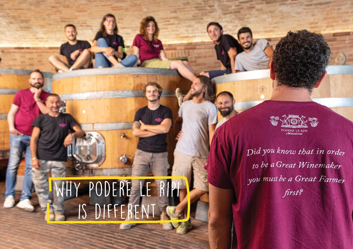 Why Podere Le Ripi is different